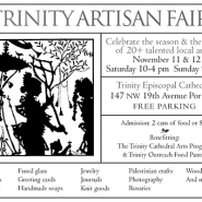 Saturday and Sunday, November 11 & 12, 2017, Trinity Episcopal Cathedral, Portland
