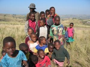 Children in Gingindlovu, South Africa