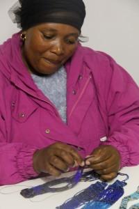 Member of Zulu Beadwork Project