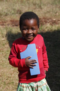 Child at Siyabonga Creche
